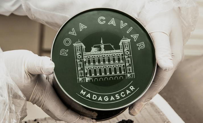 Rova Caviar Madagascar Boîte Logo