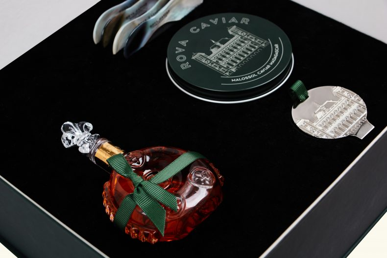 Coffret Rova Caviar Cognac LouisXIII